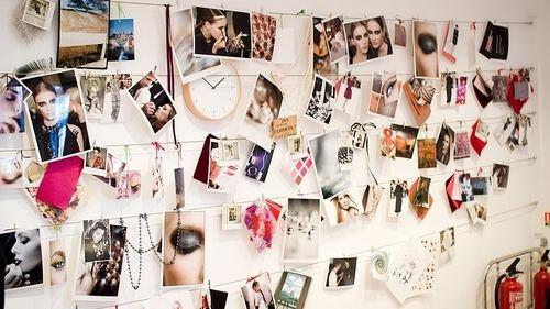 fashion blogger collage